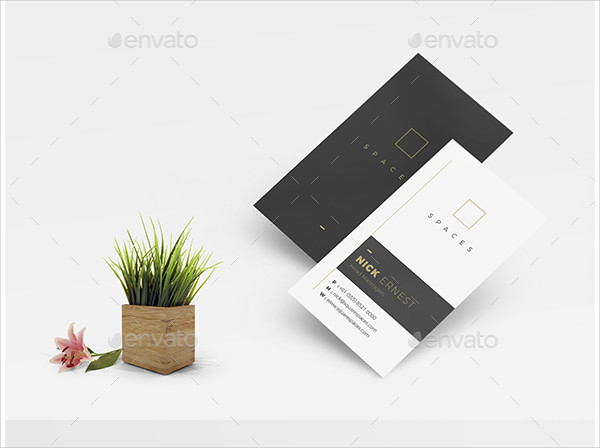 Luxury Minimalist Business Card