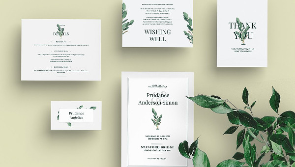 Marriage Invitation Card Templates