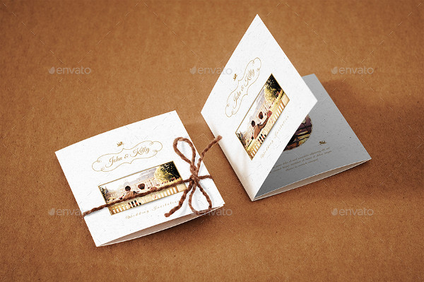 Mini Marriage Invitation Cards Design