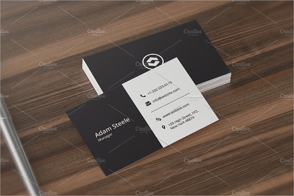 Minimal Formal Business Cards