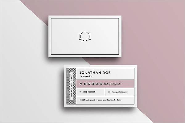 Minimal Studio Business Cards Template