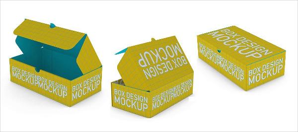 Modern Cardboard Mockup Design