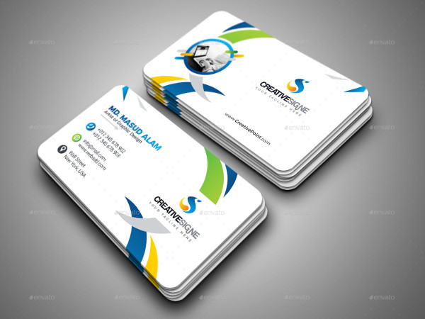Modern Design Creative Business Card