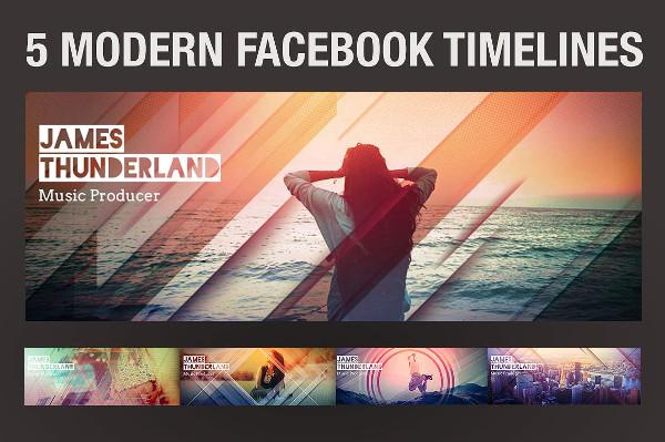 Modern Facebook Timeline Covers Design