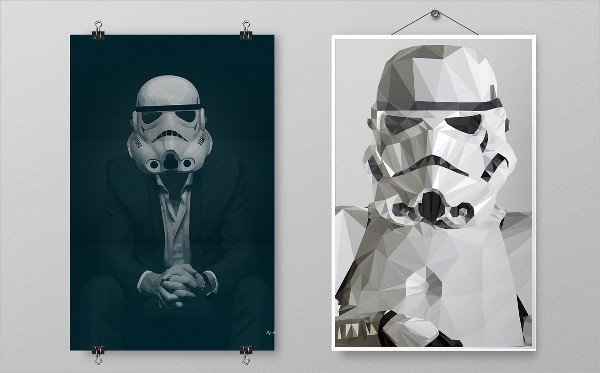 Modern Hanging Poster Mockups