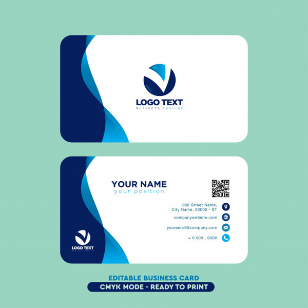 Modern Professional Business Card Free