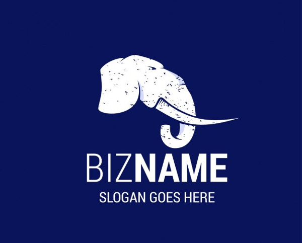Nice Logo with an Elephant Free
