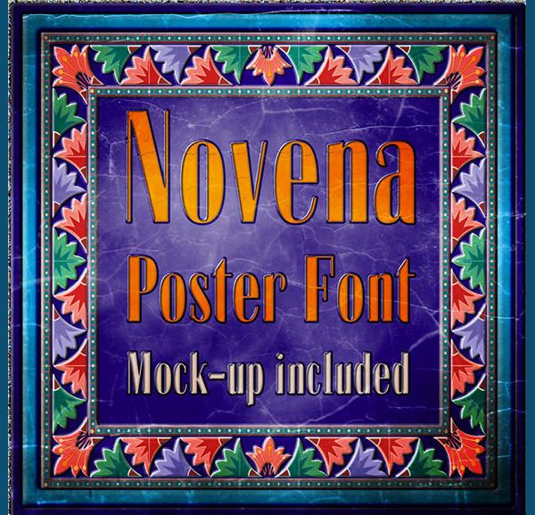 Vintage Poster Fonts