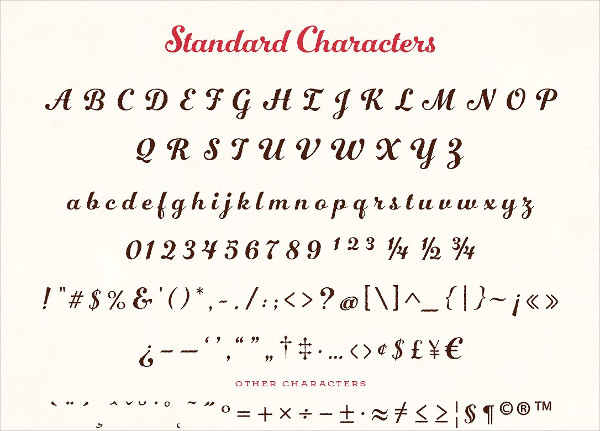 Number Five Rough Font