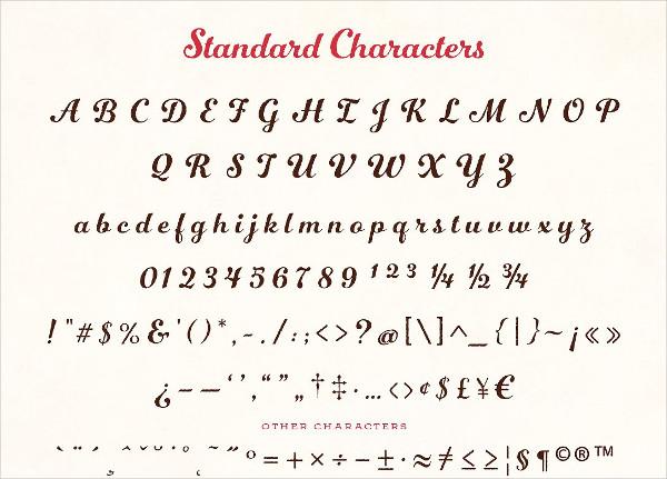 Number Five Rough Font