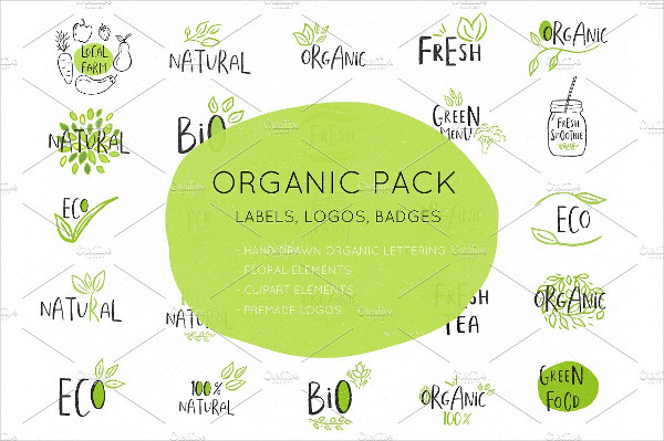 Organic and Eco-Friendly Label Templates