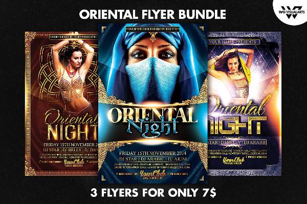 Custom Oriental Night Flyers Bundle