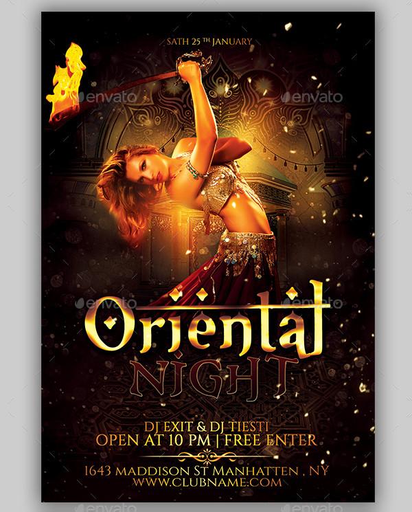 Cool Oriental Flyer Templates Bundle