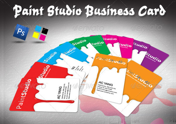 Paint Studio Business Card