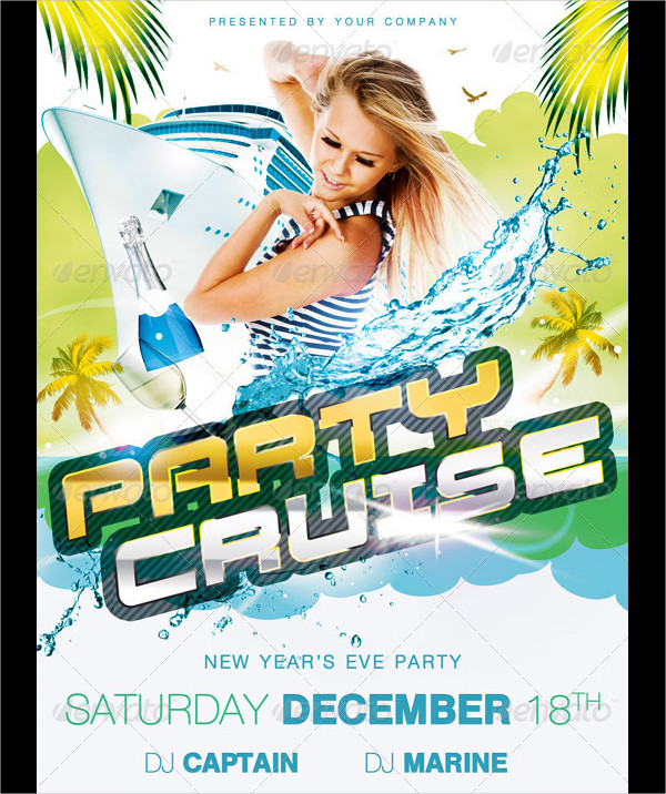 Party Cruise Flyer
