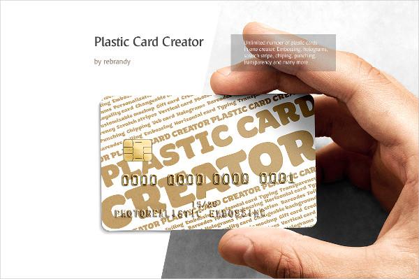 Photorealistic Plastic Cards Creator