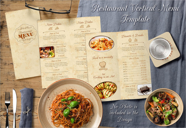 Creative Menu InDesign Template