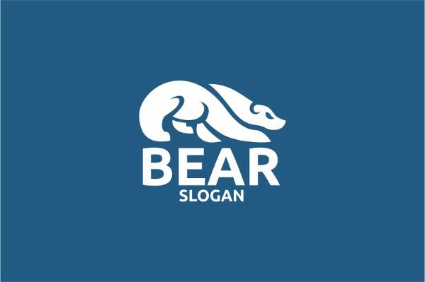 Printable Bear Logo Template
