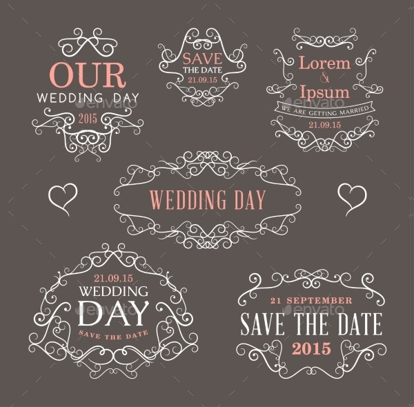 Printable Wedding Label Templates