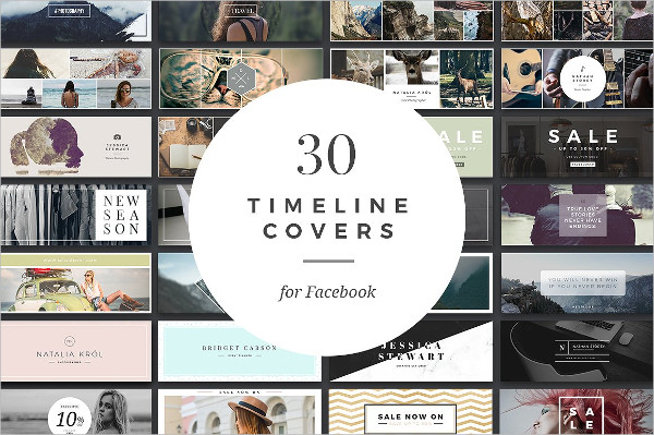 Professional Facebook Timeline Cover Templates