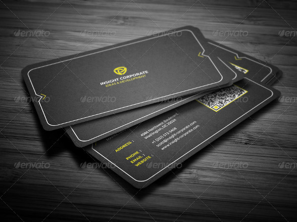 Rounded Modern Business Card Design