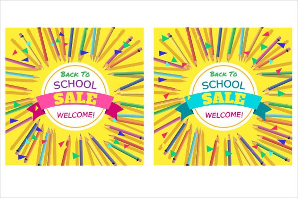 School Sale Posters