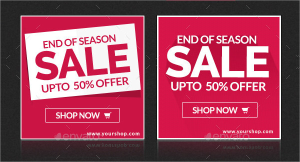 Season Sale Banners Design