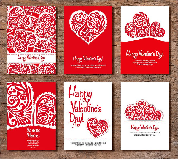 Set Of 6 Valentine's Day Banners