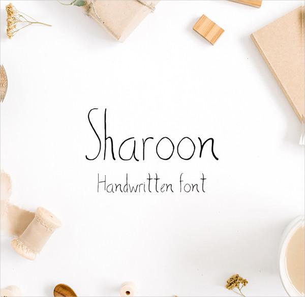 Poster Handwritten Sans Serif Font