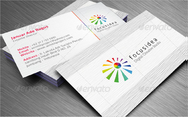 Simple Minimalist Business Card