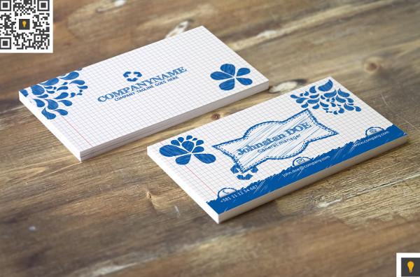 Sketch Modern Business Card Design