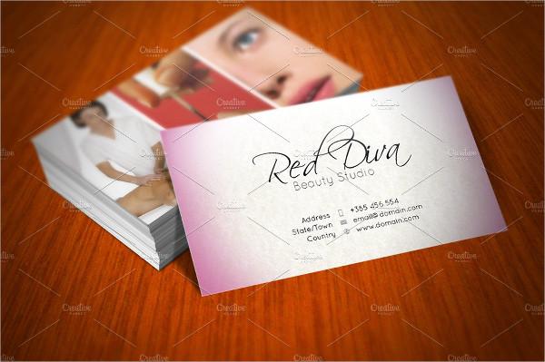 Skin Care Studio Business Cards Designs