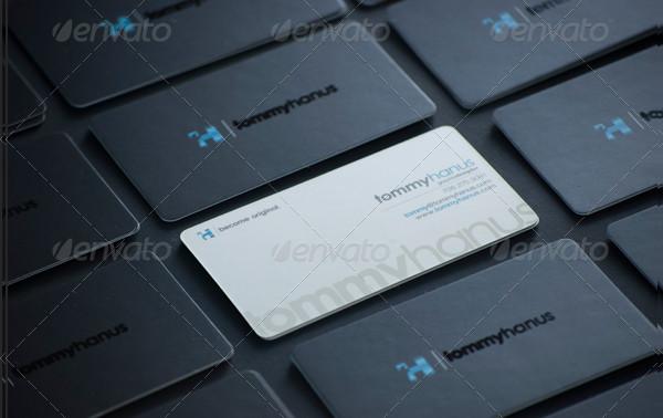 Sleek Modern Business Card Design