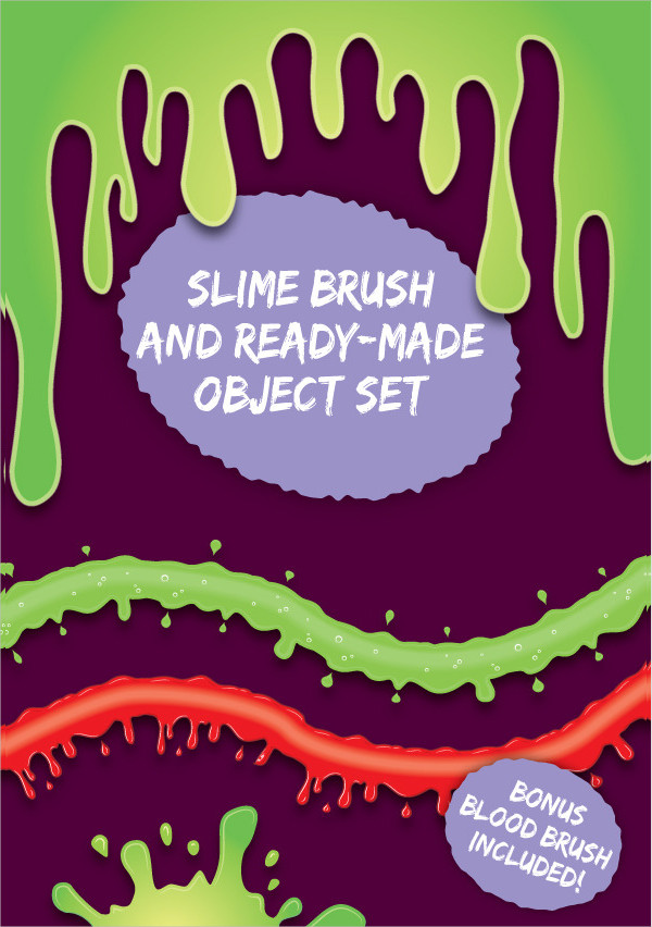 Slime Blood Brushes And Objects