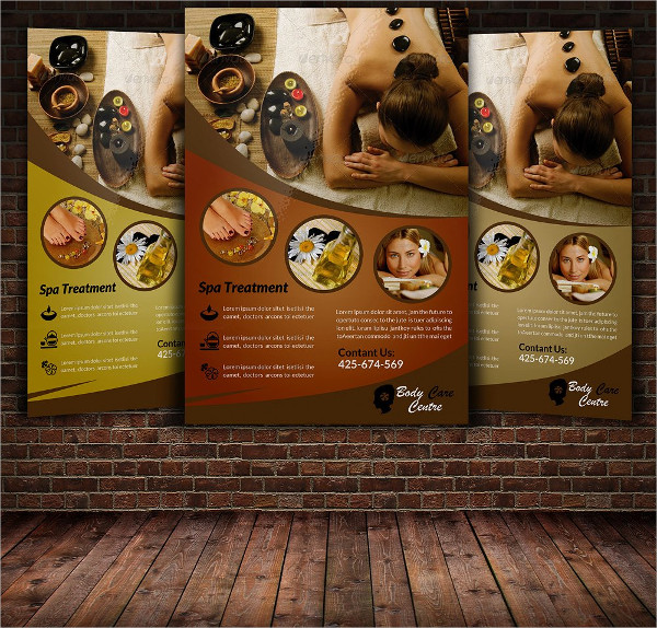Spa Beauty Shop Flye Template