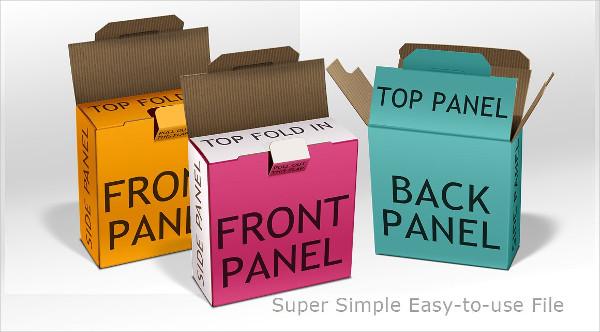 Cardboard Box with Tab Lock