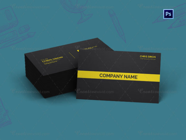 Tax Consultant Business Card