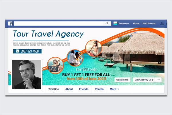 Tour & Travel Facebook Timeline Cover