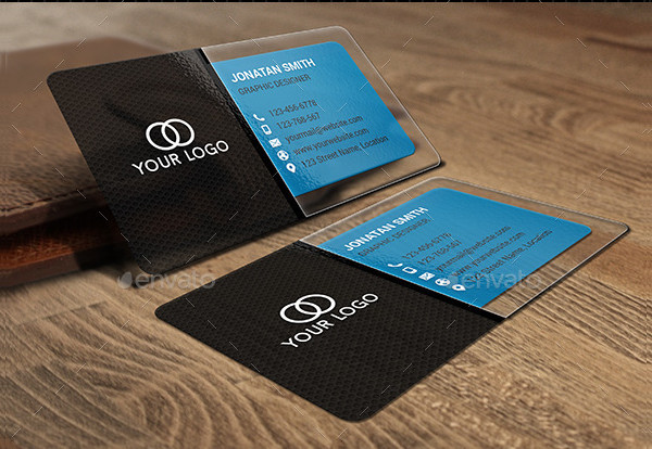 Custom Plastic Business Card Template