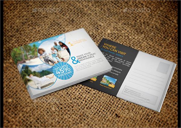 Travel Business Postcards Bundle