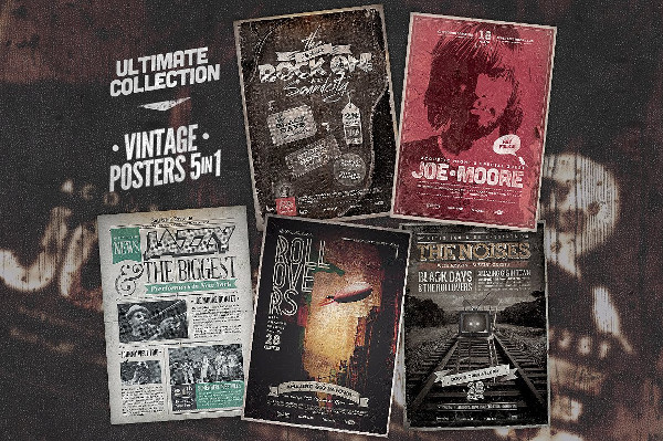 Ultimate Vintage Poster Bundle