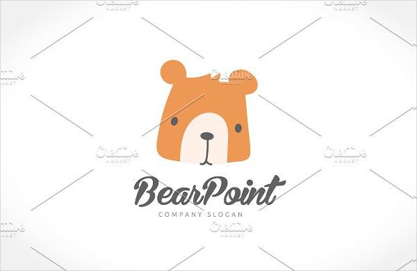 Unique Bear Point Logo
