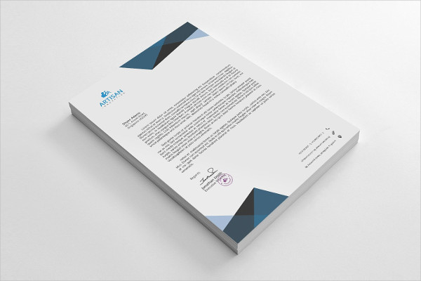 Unique Letterhead For All Kind Of Business