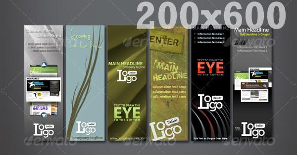 Web Advertisement Banner Templates Megapack