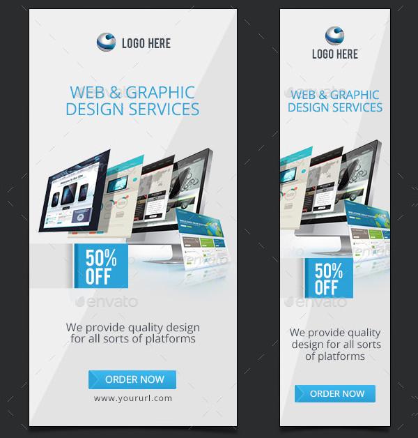 Web Design Company Banners Design