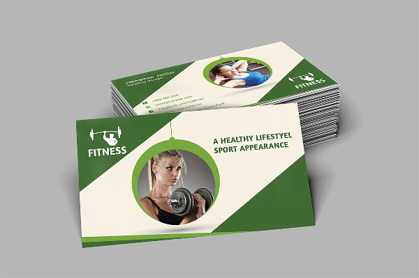 Yoga Sports Business Card Template