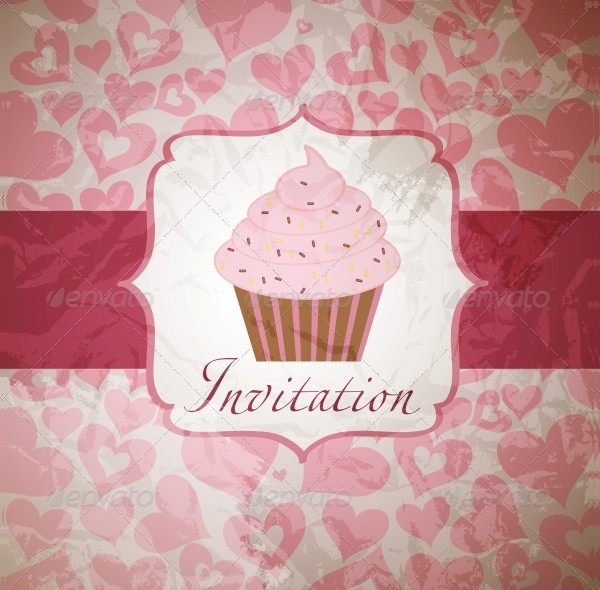 Best Cupcake Invitations Design