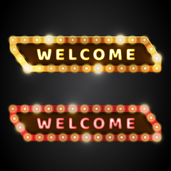 Welcome Banners Design Free Download