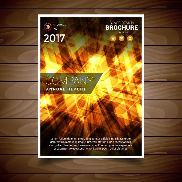 Abstract Light Brochure Design Template