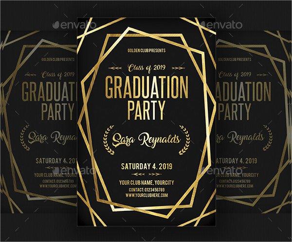 Luxury College Invitation Design
